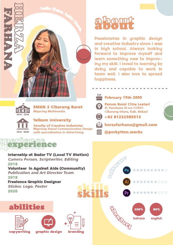 Contoh CV Format Gambar